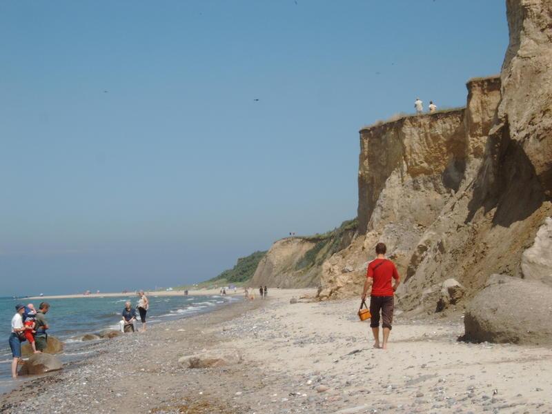 Strand zwischen Wustrow und Arenshoop / Urlaub 2007 / Brix